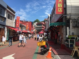 the main street in Chinatown