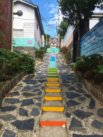 My favorite part of the Village - a quiet, colorful sidestreet