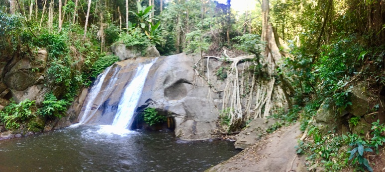 One of the two waterfalls we visited on the second day