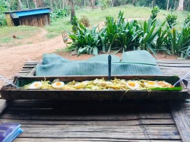 Jungle camp feast