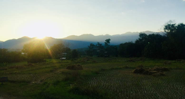 Sunset in Pai