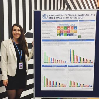 Presenting my research at the UNFCCC