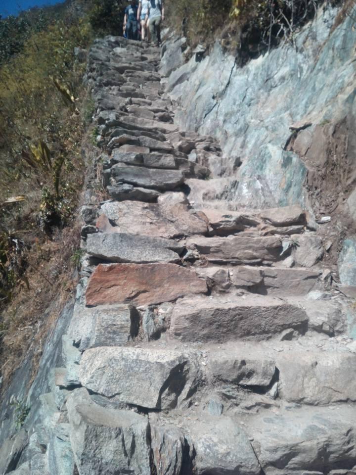 Machu Picchu Mountain Steps